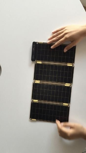 Paper-thin solar charger could be just the thing for stylish outdoorsy types