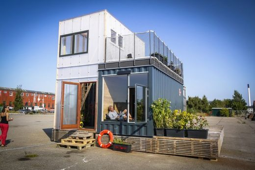 Shipping container homes utilize the leftover steel boxes used in oversea transp…