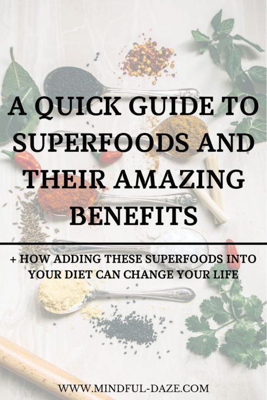 Superfoods: A Complete Guide To 8 Basic Superfoods