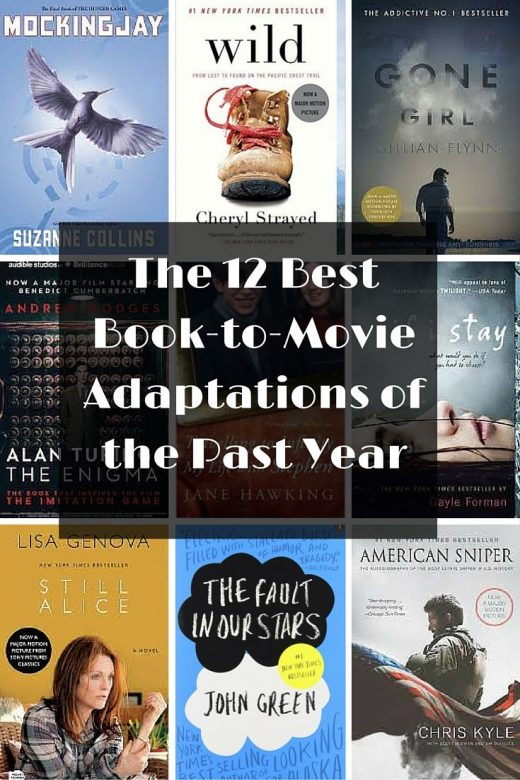 The 12 Best Book-to-Movie Adaptations of the Past Year
