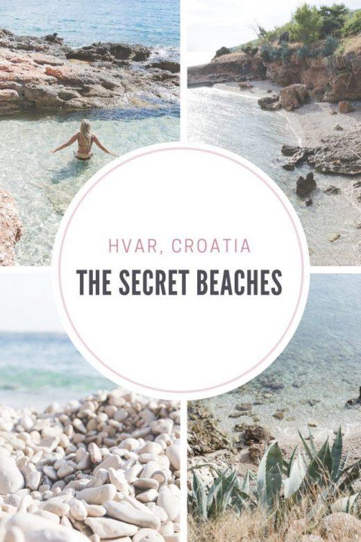 The secret beaches of Hvar, Croatia