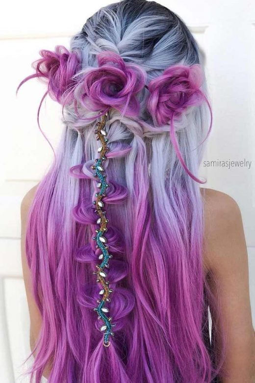 Try 42 Half Up Half Down Prom Hairstyles