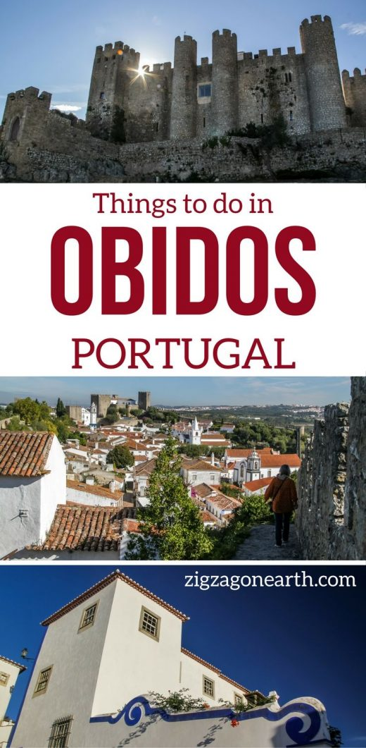 Walking on the walls of the Medieval village of Obidos Portugal – Amazing!