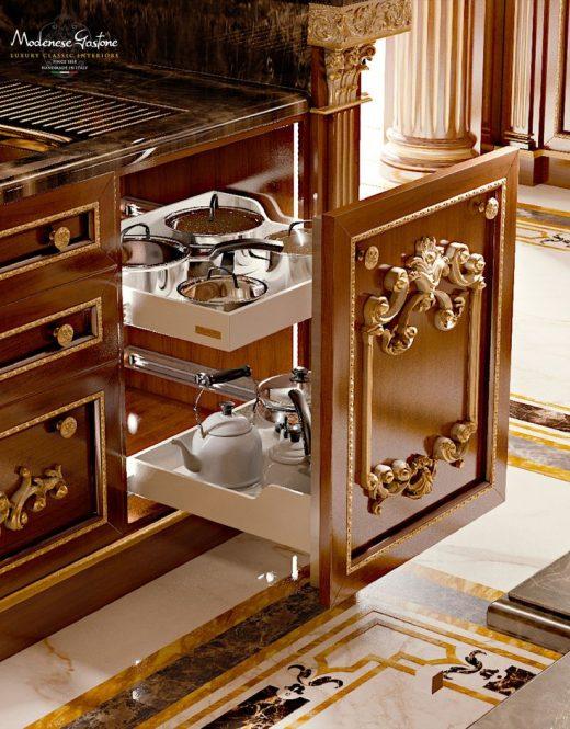 Кухня Modenese Gastone Royal walnut