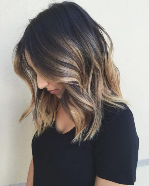 10 Balayage Hairstyles for Shoulder Length Hair 2019