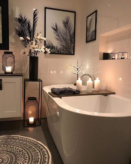 10 Cozy Master Bathroom Ideas that You Would'nt dare to Miss