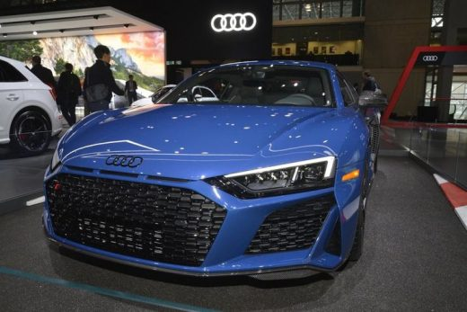 In photos: The 2019 NY Auto Show, from supercars to all-electric compacts