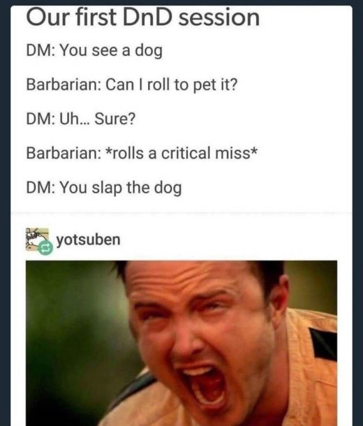 30 Dungeons And Dragons Memes For All You Dice Throwers