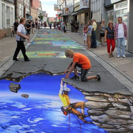 31 Street Art Pieces That Will Take You To Another Dimension