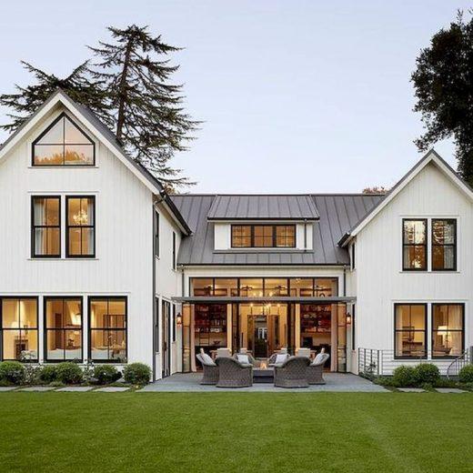 33 Best Modern Farmhouse Exterior Design Ideas