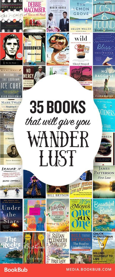 35 Books That Will Give You Wanderlust