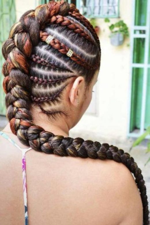 37 Epic Mohawk Braids for Black Men and Women You Shouldn't Miss