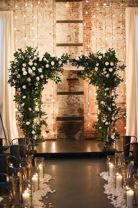 48 Rustic Romantic Winter Rooftop Wedding Ideas