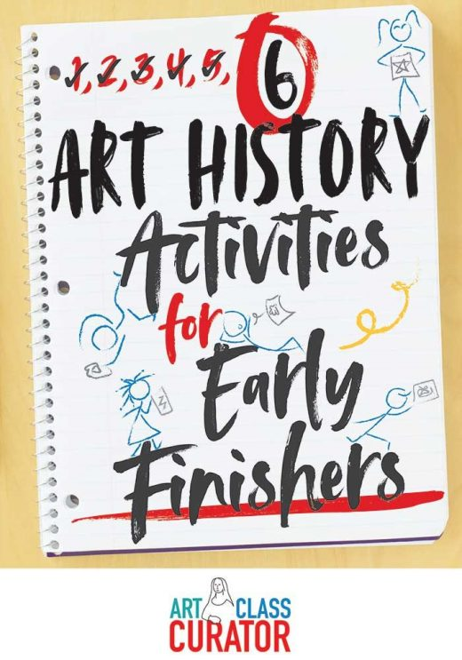 6 Early Finisher Activities Featuring Works of Art