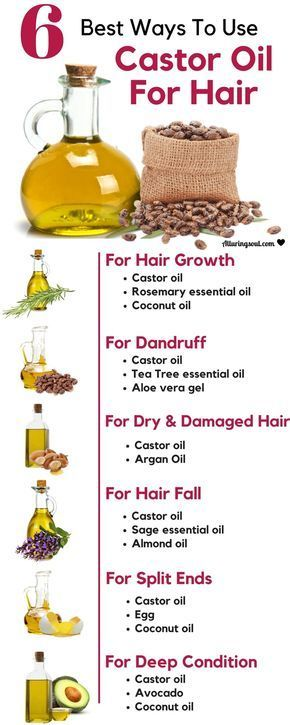 6 Most Effective Ways To Use Castor Oil For Hair
