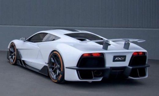 Aria FXE: hybride supercar met 1.150 pk