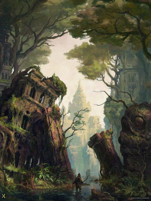 ArtStation – Swamp City, Markus Neidel