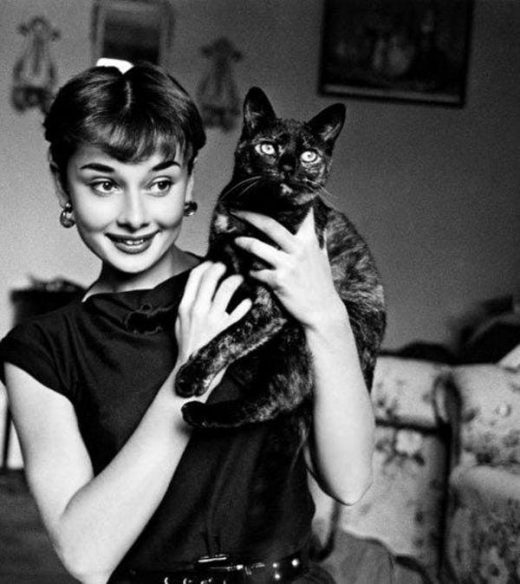 Audrey Hepburn is listed (or ranked) 2 on the list Cool Old Photos of Celebritie…