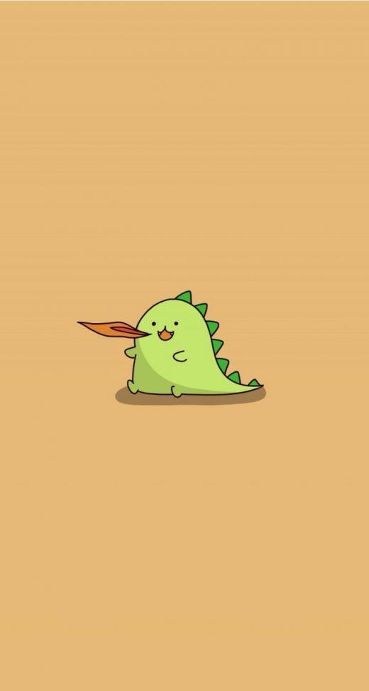 BWARRR!!! Dinosaur. Tap for more Chibi Chiis Wallpapers!  mobile9 | Wallpapers
