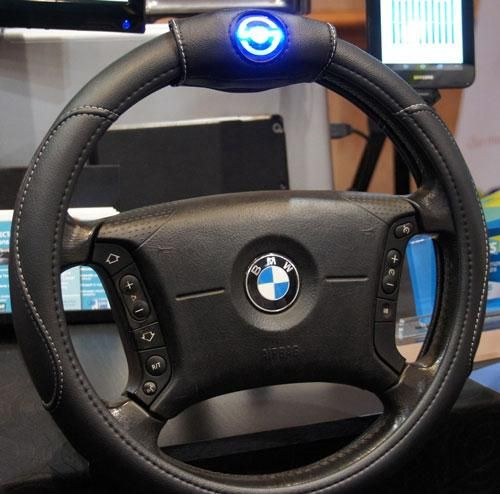 Can a steering smart wheel cover end texting and driving?