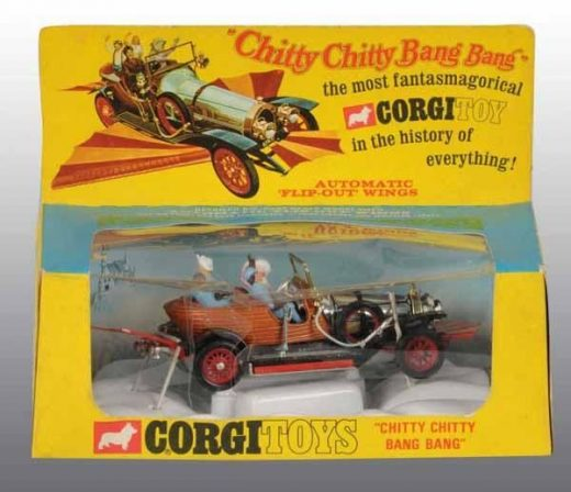 Chitty Chitty Bang Bang Car.   Still have this but all the people are missing