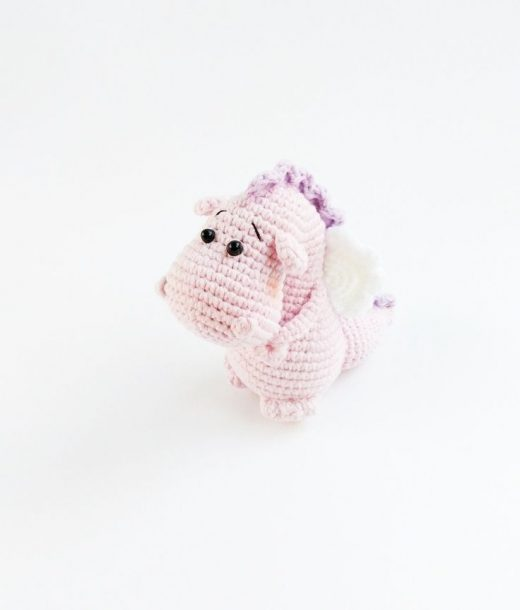 Crocheted dragon , crocheted baby toys , collectible toy , special occasion gift , dragon miniature , OOAK , soft sculptures , grandmas toys