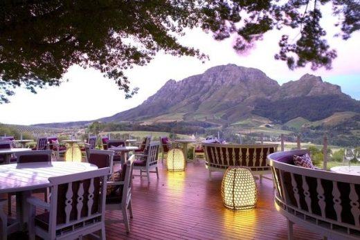 Delaire Graff Restaurant, Stellenbosch, South Africa