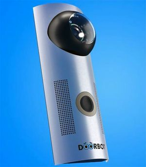 DoorBot Wi-Fi doorbell camera lets you see visitors on your smartphone