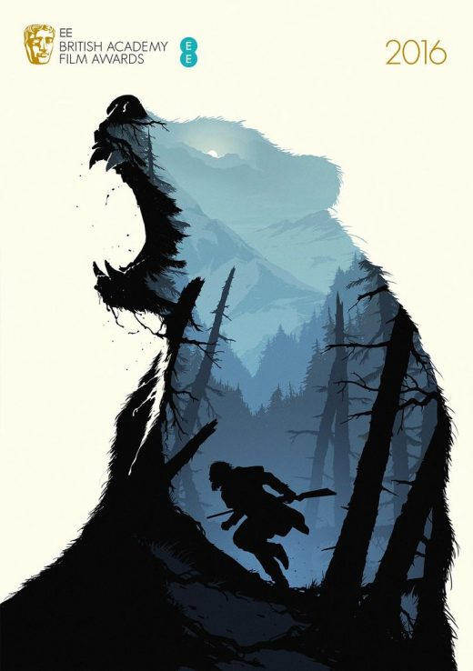 Illustration tutorial: How this incredible BAFTA 2016 poster for The Revenant wa…