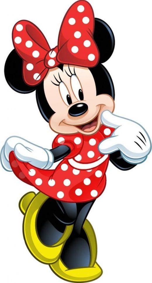 MINNIE MOUSE – Disney – Instant Download – Digital Printable Design – Minnie Mou…