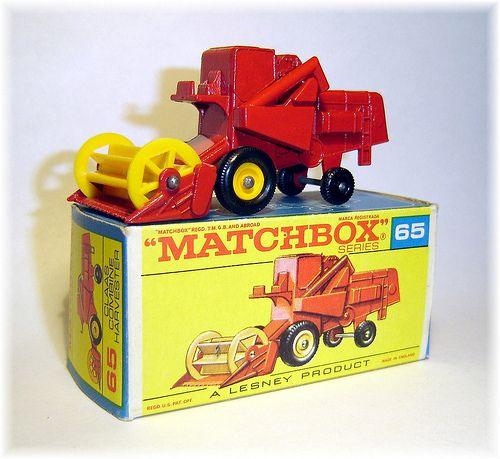 Matchbox 65c Claas Combine Harvester (1967)