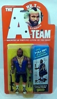 """OUT OF STOCK"" The A-Team 6″ Figures By Galoob – B.A. Baracus Mr T. (MOC)"