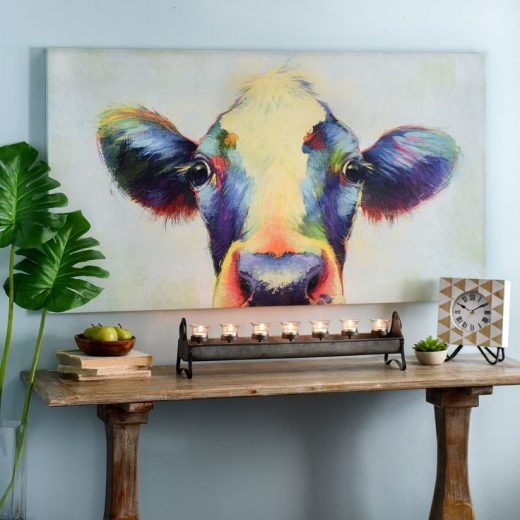 Show your wild side with any of our vibrant art pieces featuring animals! You ca…