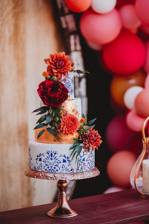 Spanish Inspired Wedding Ideas at a Spanish Ranch