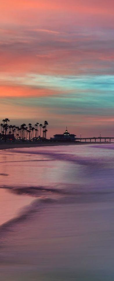 Stunning sunset views from Newport Beach, CA. | From yummy beach side eateries t…
