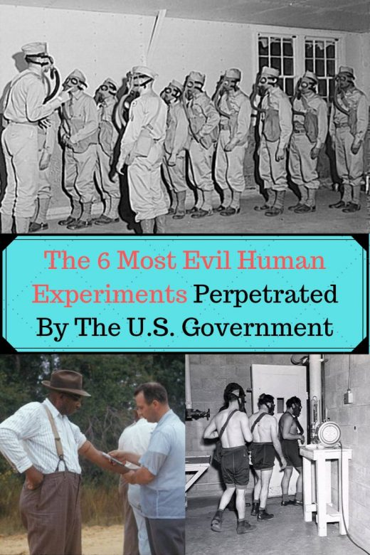 The 6 Most Evil Human Experiments Perpetrated By The U.S. Government