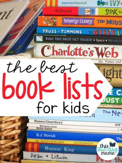 The Best Book Lists for Kids & Teachers