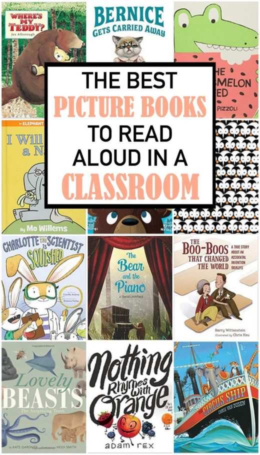 The Best Picture Books to Read Aloud in a Classroom
