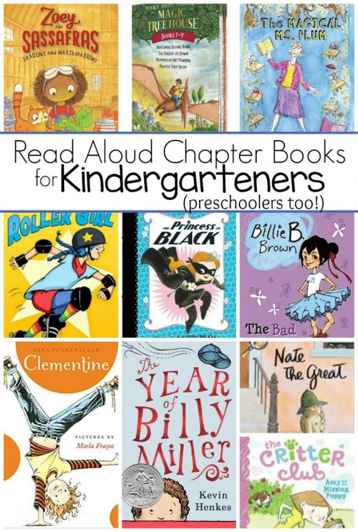 The Best Read Aloud Chapter Books for Kindergarten