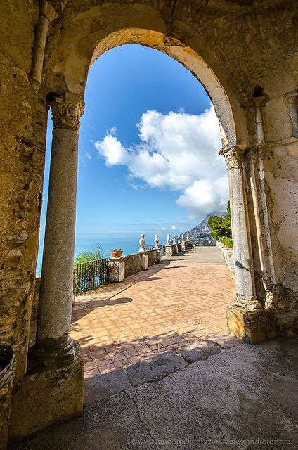 Villa Cimbrone – Ravello, Italy. My husband and I spent a glorious day here.  …