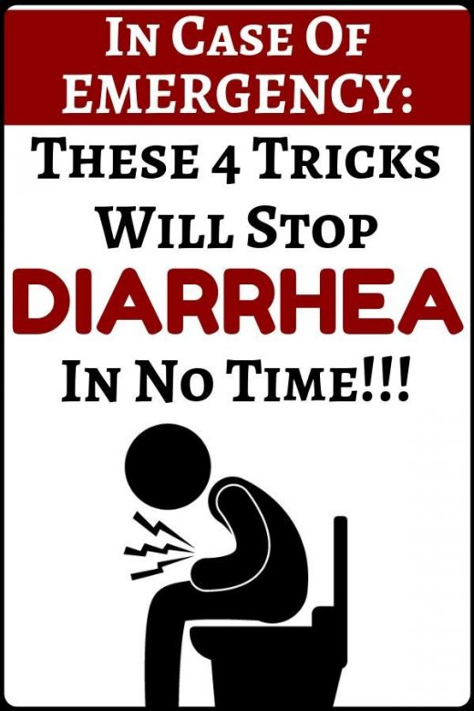 Warning: these 4 tricks and tips can stop diarrhea in no time! – health and fitn…