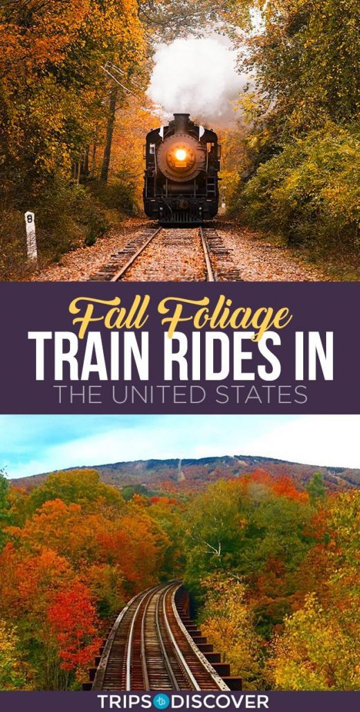 11 Best Fall Foliage Train Rides in the United States