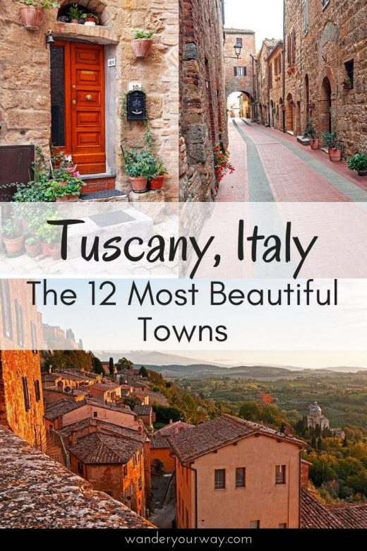 12 of the Most Beautiful Towns in Tuscany