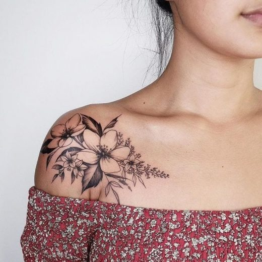37 Wonderful Women's Tattoo You Can Consider This Day