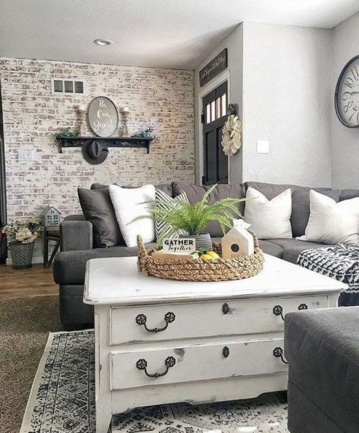 50 Incredible Farmhouse Living Room Decor Ideas To Try Right Now