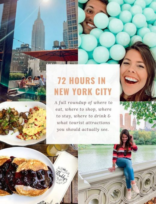 72 Hours in NYC