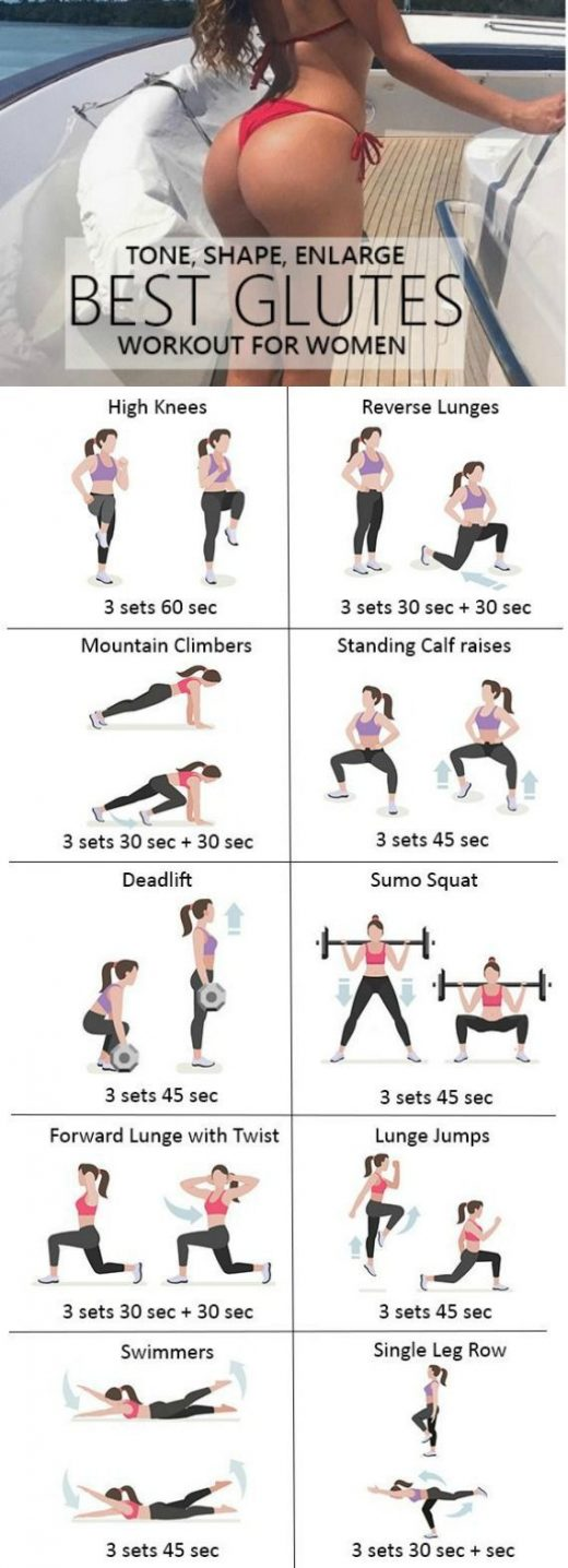 9 Helpful Glute Workouts for Women of all ages To Tone Firm Elevate Tighten + Make Butt More substantial