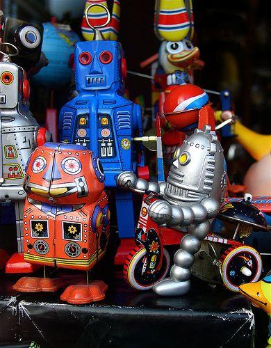 Amsterdam tin toys