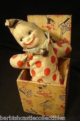 Antique Jack in the Box   Jack in the Box Toy. Truly terrifying.                …