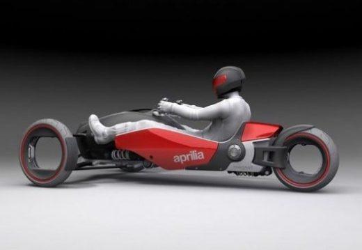 Aprilia Magnet: Hybrid three-wheeler with supercar performance
